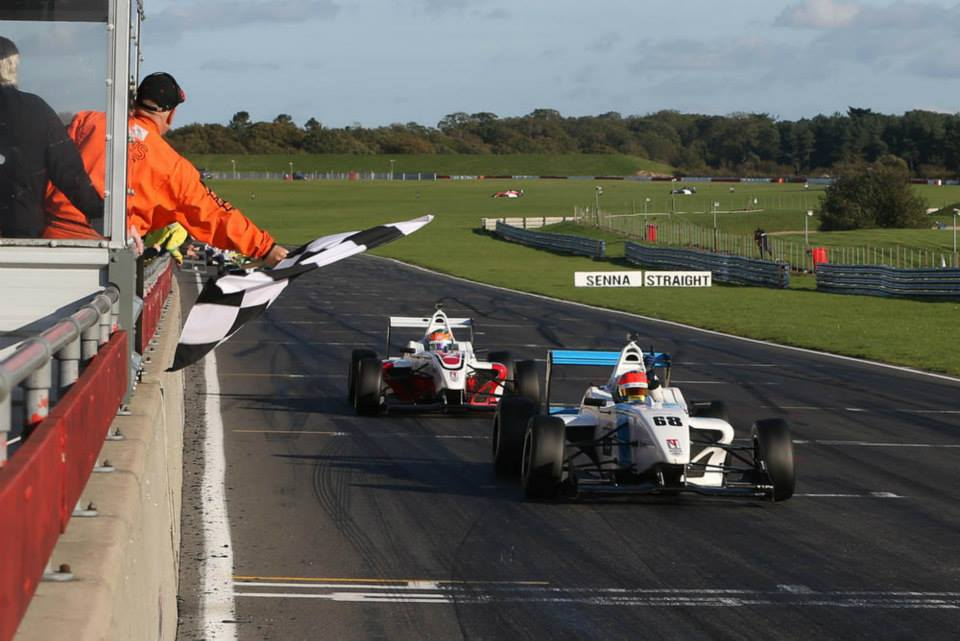 Menchaca and Eastwood take the chequered flag to score a 1-2 for Douglas Motorsport