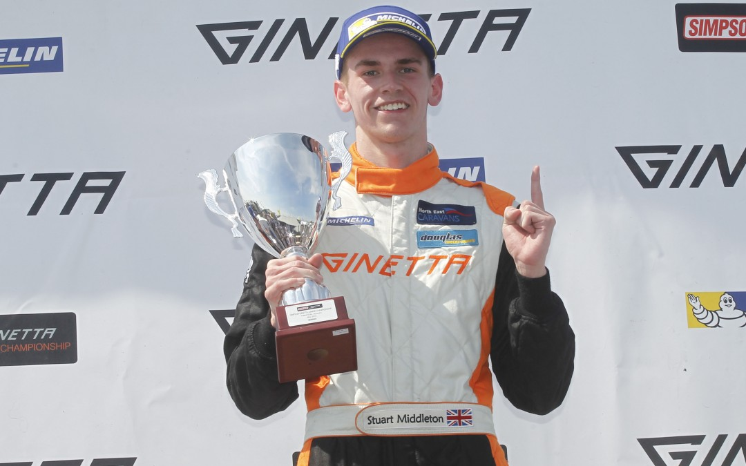 MIddleton Wins again for Douglas Motorsport