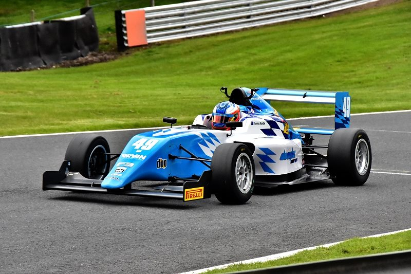 Douglas Drivers Quick in Testing at Donington