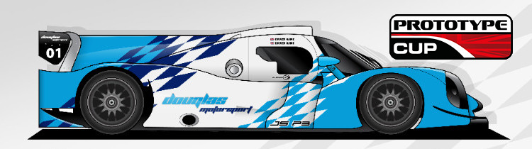 See the Brand new Ligier JS P3 LMP3  in it's new Douglas Motorsport Livery