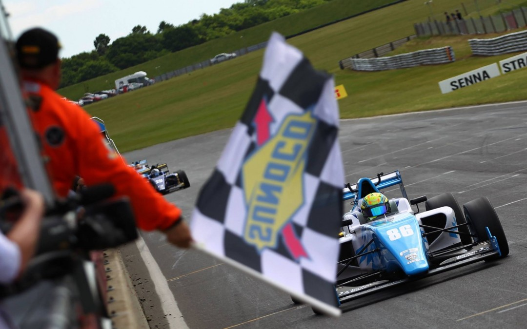 Cane Wins for Douglas Motorsport, O'Keeffe makes Podium
