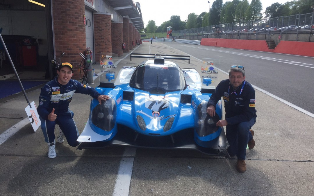 Randle and Newbould's First Podium in LMP3 at Brands Hatch