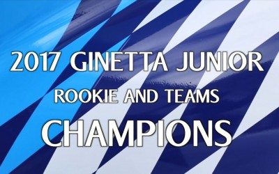 Douglas Motorsport 2017 Ginetta Junior Rookie and Team Champions
