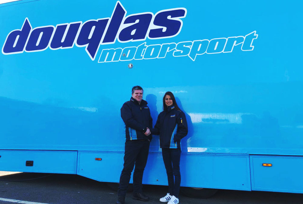 Alexandra Mohnhaupt Joins the Douglas Team for 2018 BRDC F3 Championship