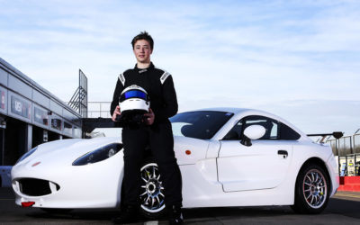Bailey Voisin Ready For Rookie Challenge In Michelin Ginetta Junior Championship