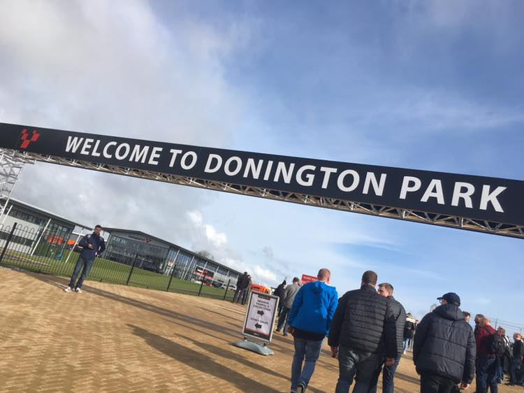 Round 2 of the Ginetta Junior Series, Donington Park
