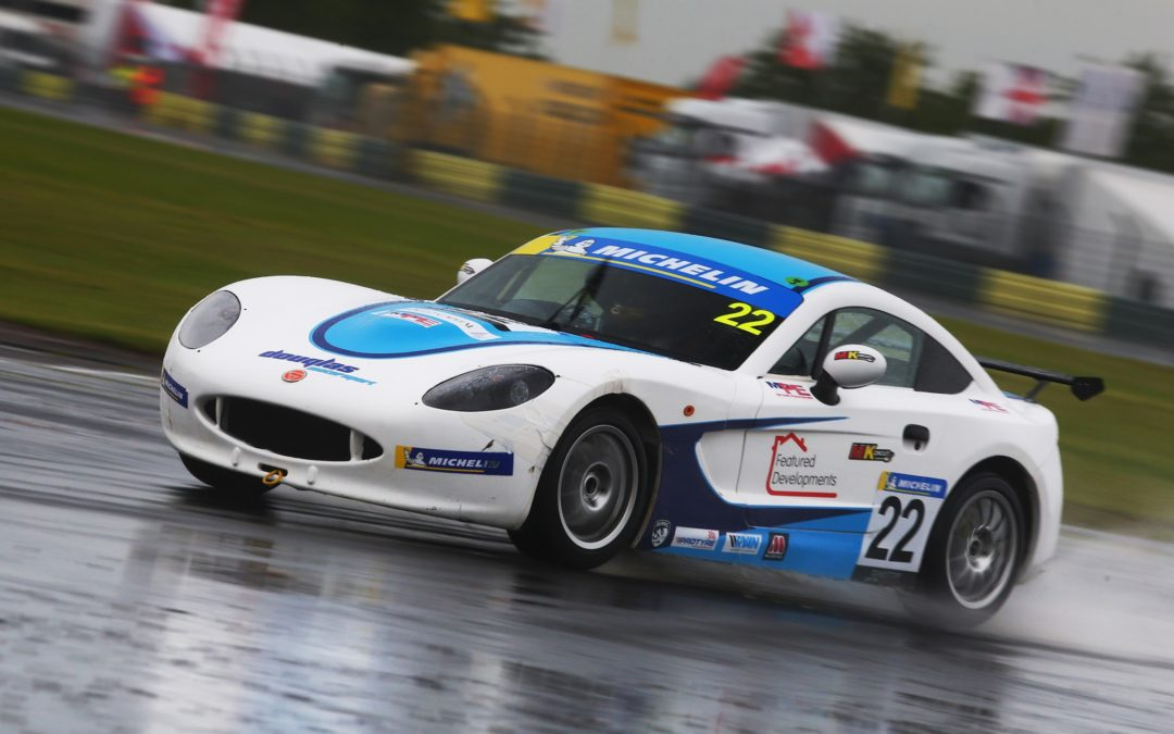 Round 4 of the Ginetta Junior Championship at Croft