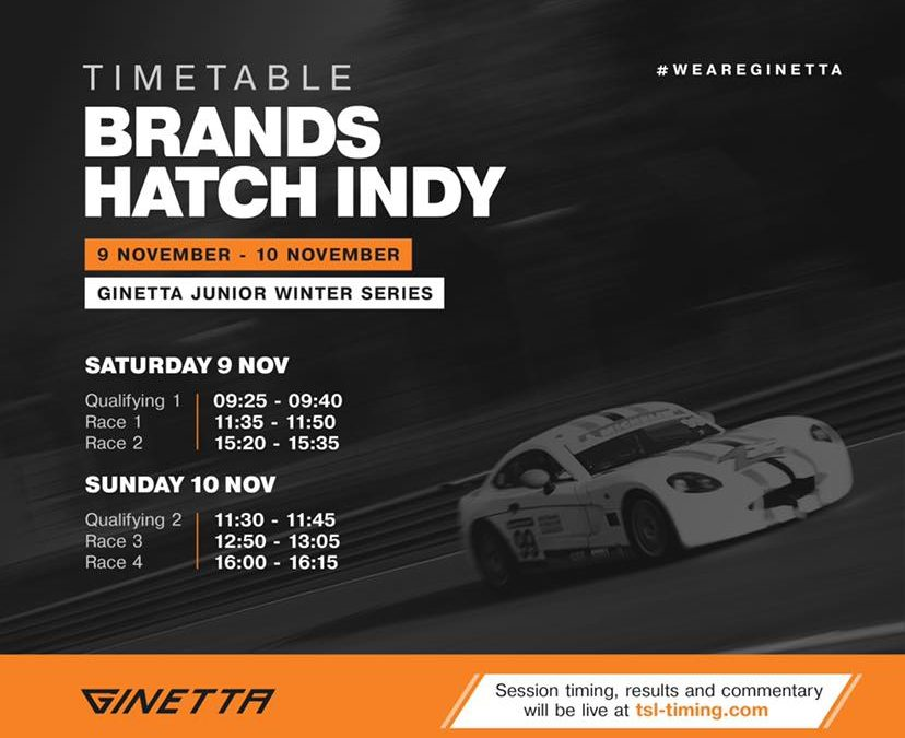 Ginetta Junior Winter Series