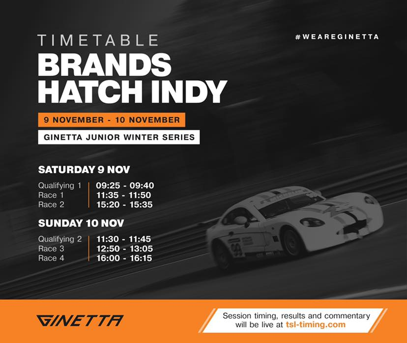 Ginetta Winter Series