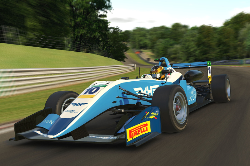 Douglas Motorsport Continue British F3 iRacing Podium Streak At Brands Hatch
